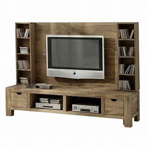 Tv Wand Aus Holz Ihr Traumhaus Ideen