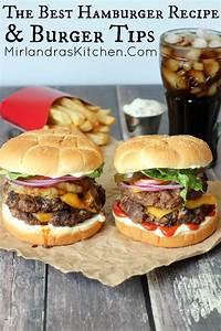 Whos Perfect Hamburg : the best hamburger recipe burger tips mirlandra 39 s kitchen ~ Orissabook.com Haus und Dekorationen