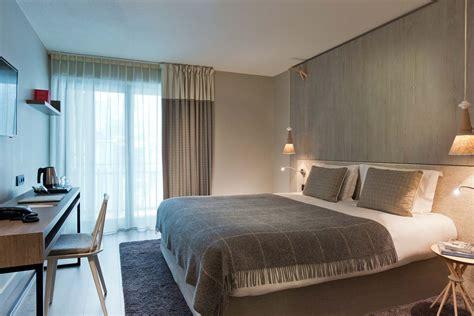 chambre ultra moderne hôtel heliopic design confort et volupté à chamonix