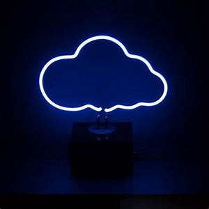 Desktop Neon Light Cloud