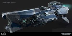 concept ships: Spaceships by Garret AJ
