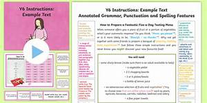 Y6 Instructions Model  Example Text