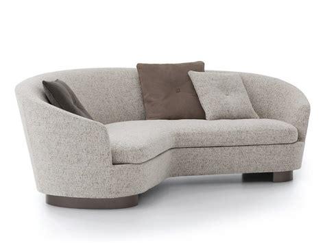 curved sofa jacques curved sofa minotti furniture
