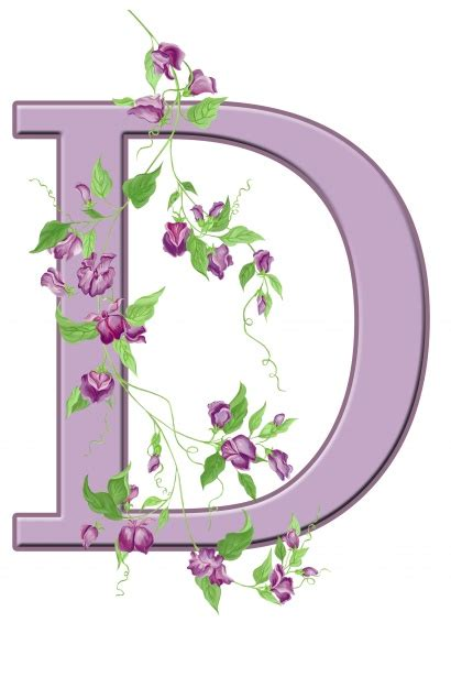 letter  floral initial  stock photo public domain pictures
