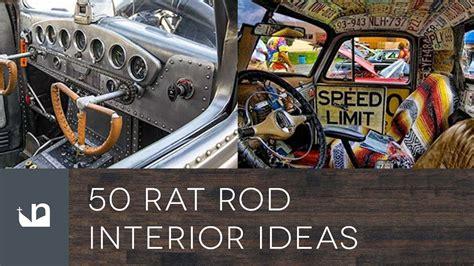 rat rod interior ideas youtube