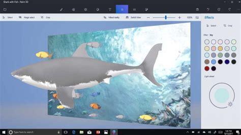 3d Paint : Microsoft Brings Intuitive 3d View To Paint 3d