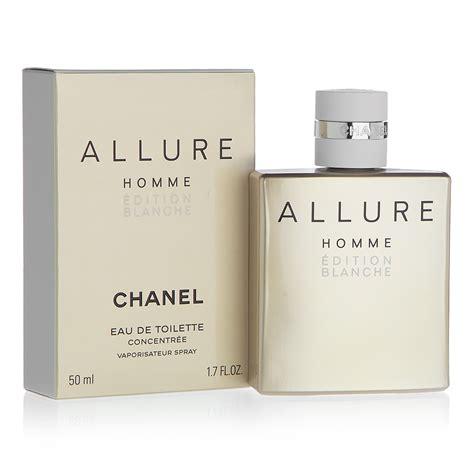chanel homme edition blanche eau de toilette 50ml s of kensington