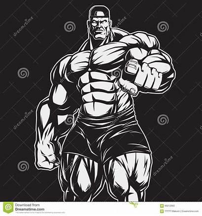 Bodybuilding Clipart Physique Forme Eignung Geschiktheid Zug