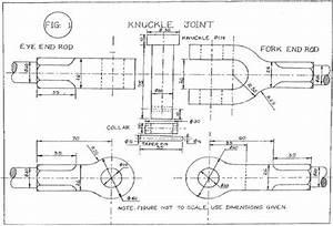 Machine Drawing Btau305  U2013 Sunil Pipleya