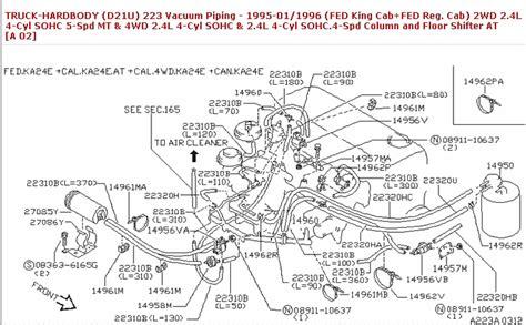 1997 nissan maxima engine diagram automotive parts