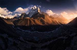 Dark, Mountain, Wallpaper, 4k