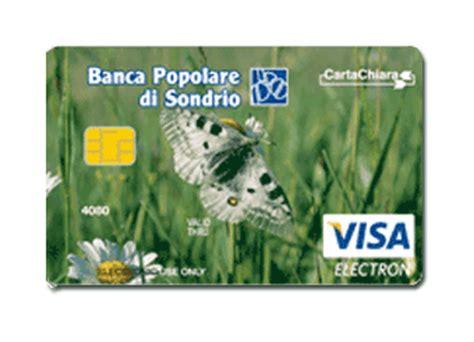 filiali popolare di sondrio prodotti e servizi privati carte di pagamento carta