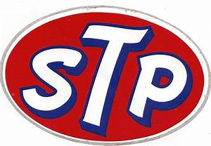 Stp Racing Decal Sticker 6 Inches Long Vintage