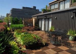 Bois Pour Terrasse Extérieure : idee deco terrasse exterieure 14 terrasse en bois 75 ~ Dailycaller-alerts.com Idées de Décoration