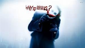 Batman - Why So Serious Joker - WallDevil