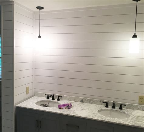5 Inch Shiplap by Check Out This Bathroom Project Nearing Completion With