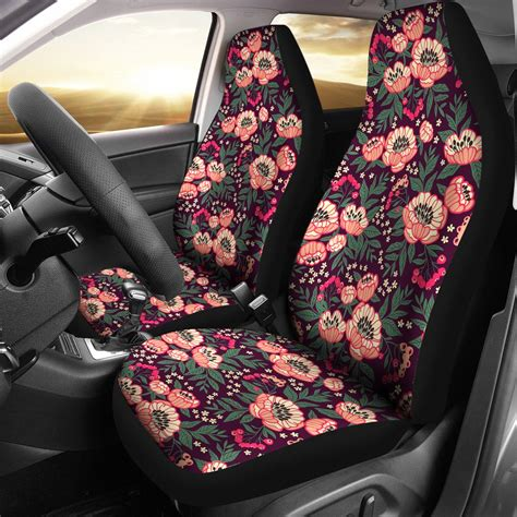 cute peony car seat covers groove bags