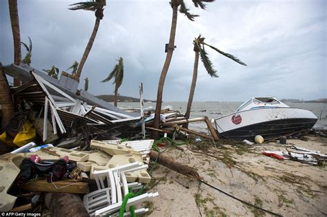 Hurricane Irma Boats Destroyed by Hurricane Irma Leaves At Least 13 Dead In The Caribbean
