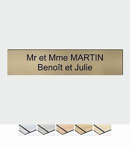Etiquette Boite Au Lettre : le texte de la plaque de bo te aux lettres doit tre bien ~ Farleysfitness.com Idées de Décoration