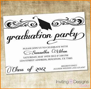 free graduation party invitation templates for word With banquet invitation templates free