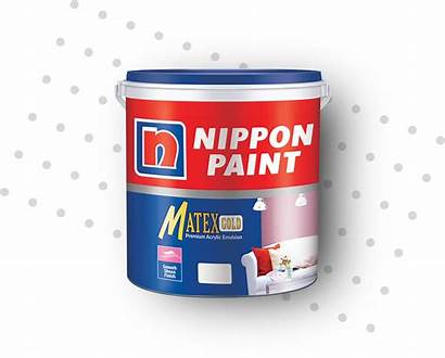 Matex Gold Paint Nippon Emulsion Acrylic Smooth
