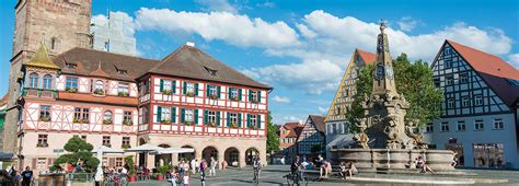 Schwabach Old Town   City, country, culture in Bavaria