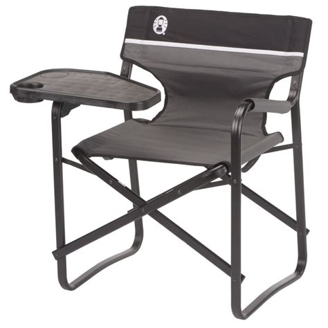 aluminum deck chair  swivel table coleman