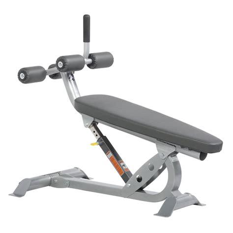Hoist Fitness Hf4264 Adjustable Ab Bench Treadmill