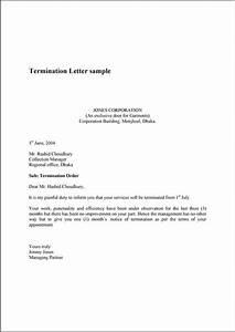 Sample Layoff Letter Printable Sample Termination Letter Sample Form Letter