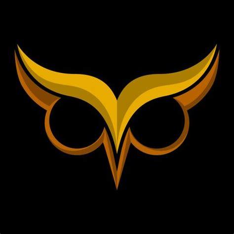 55 free vector graphics of eyebrow. Owl Bird Logo with Big Eyes and Eyebrows in Black vector ...