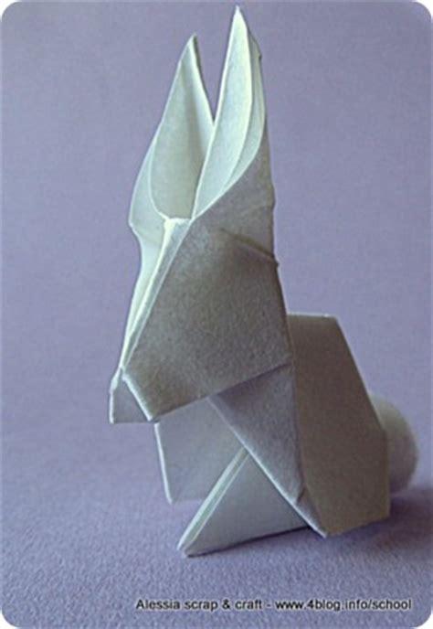 lavoretti  pasqua il coniglietto origami alessia scrap craft