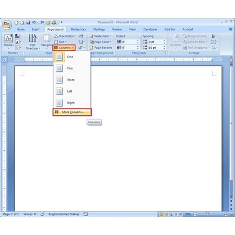 Brochure Template Word 2007 by How To Make A Phlet Using Microsoft Word 2007 Learn