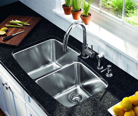 remove kitchen sink faucet how to clean a stainless steel sink and make it shine