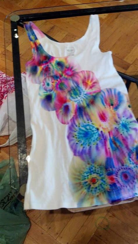 Tie Dye With Sharpies Craft Inspiration Pinterest