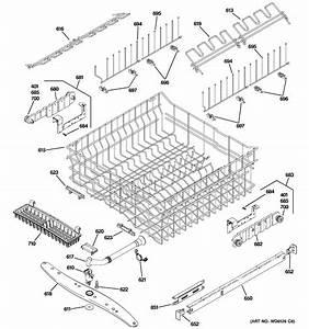 Ge Zbd6890k10ii Dishwasher Parts