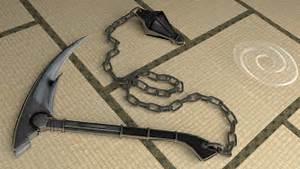 Kusari Gama - Weapon Check by ProtocolX27 on DeviantArt