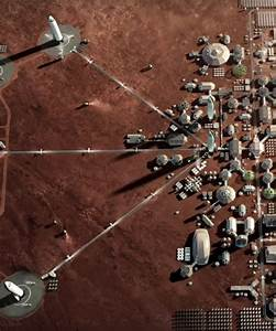 elon musk unveils spaceX's moon base alpha and mars city plans