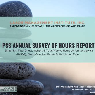 annual survey  hours report electronic labor