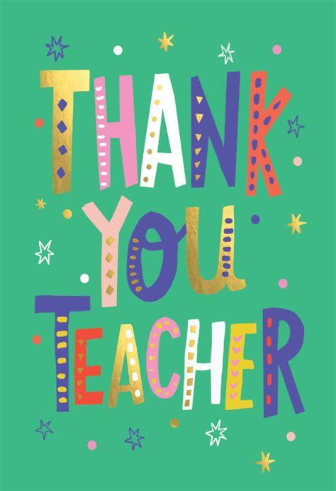 teacher lettering   card  teacher