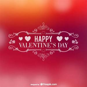 Happy Valentine's Day Vector | Free Download