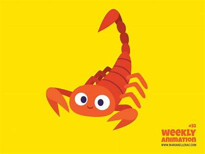Scorpion Animation Kellerac Deviantart Week Weekly Alacran