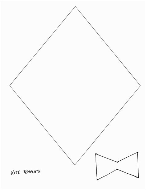 kite template 17 best images about kites on kindergarten bulletin boards and preschool