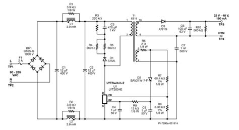 Universal Input Isolated Flyback Led Driver Eeweb