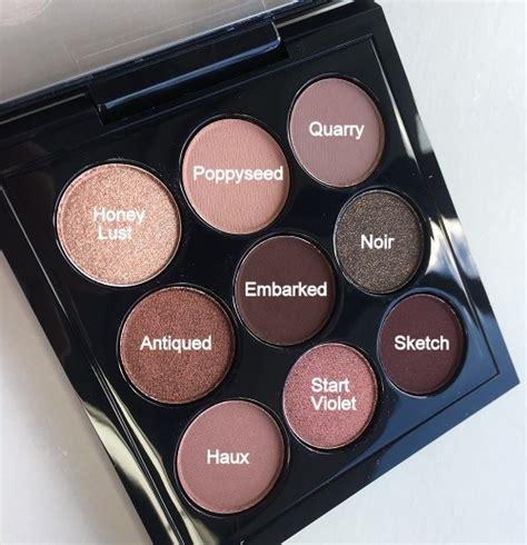 mac burgundy times  eyeshadow palette shades