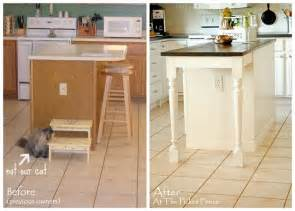 Kitchen Island Makeover Ideas Get Inspired Kitchen Mini Makeover Ideas How To Nest For Less