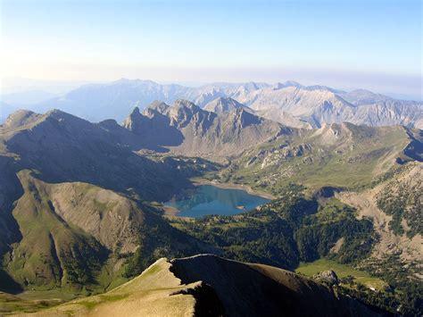 mont des alpes lac d allos
