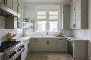 10, Beautiful, Open, Kitchen, Shelving, Ideas