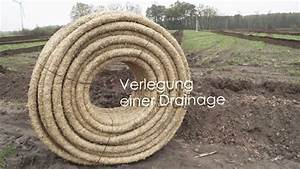Verlegung Von Bitumenschindeln : verlegung einer drainage dr nage youtube ~ Articles-book.com Haus und Dekorationen