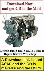 Detroit Dd13  Dd15  Dd16 Ghg17 Engine Troubleshooting
