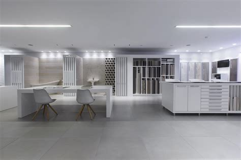Design indoor floors at Cerafino Tiles showroom in Marbella.